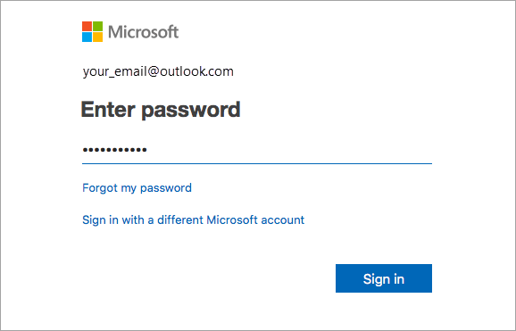 mac password entry screen