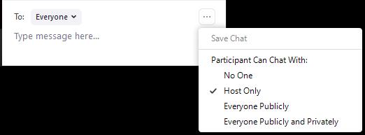 host only capture option