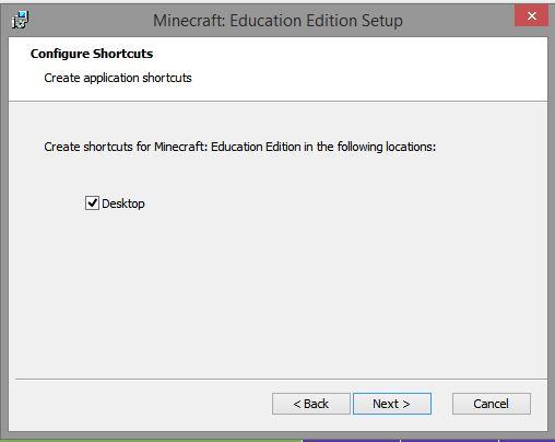 configure shortcuts
