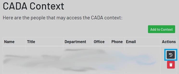 example context screen highlighting refresh button