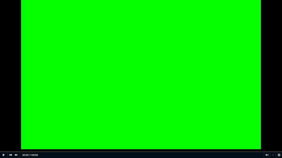 example of a screen that is all green with no text or icons