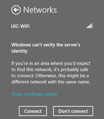 windows can't verify screen