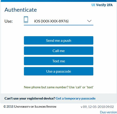 New Duo Auth screens