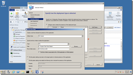 step 12 example screen