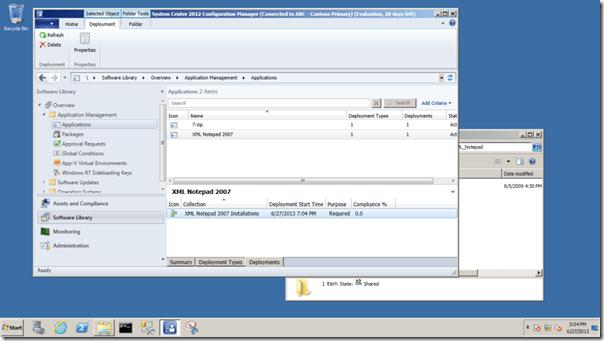 monitoring screen example