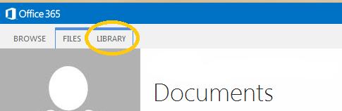 Click Library Tab