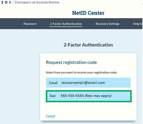Registration Code