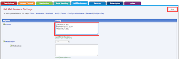 add email address field