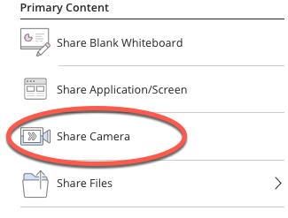 identifying share camera