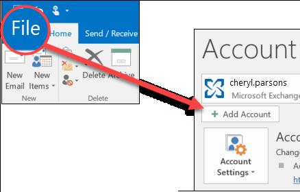 Select file add account