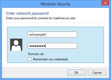 windows security screen