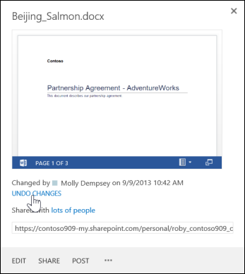 example call out window showing example listing