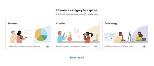 Choose category