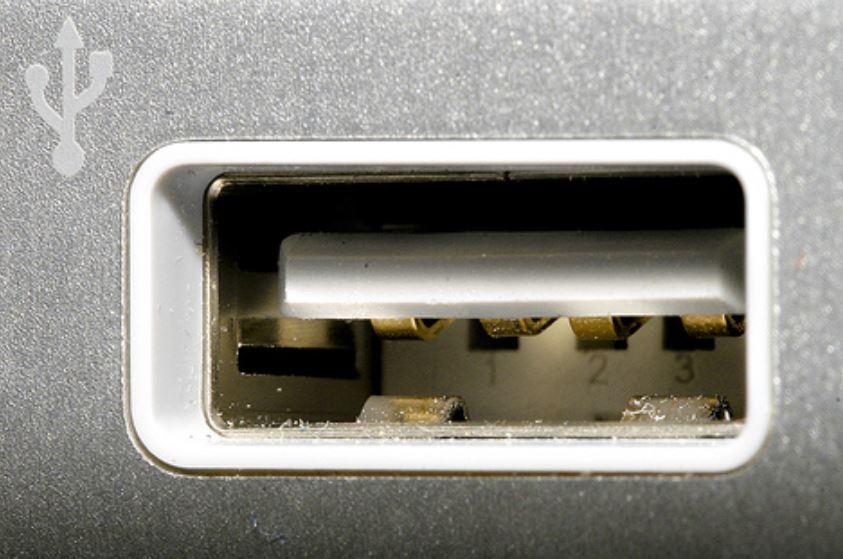 standard USB port for windows based laptops