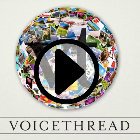 opening screen for VoiceThread video