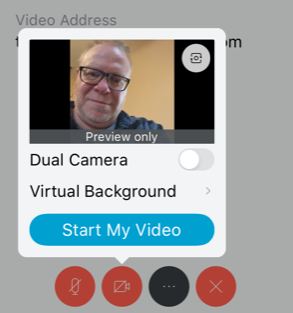 video options screen